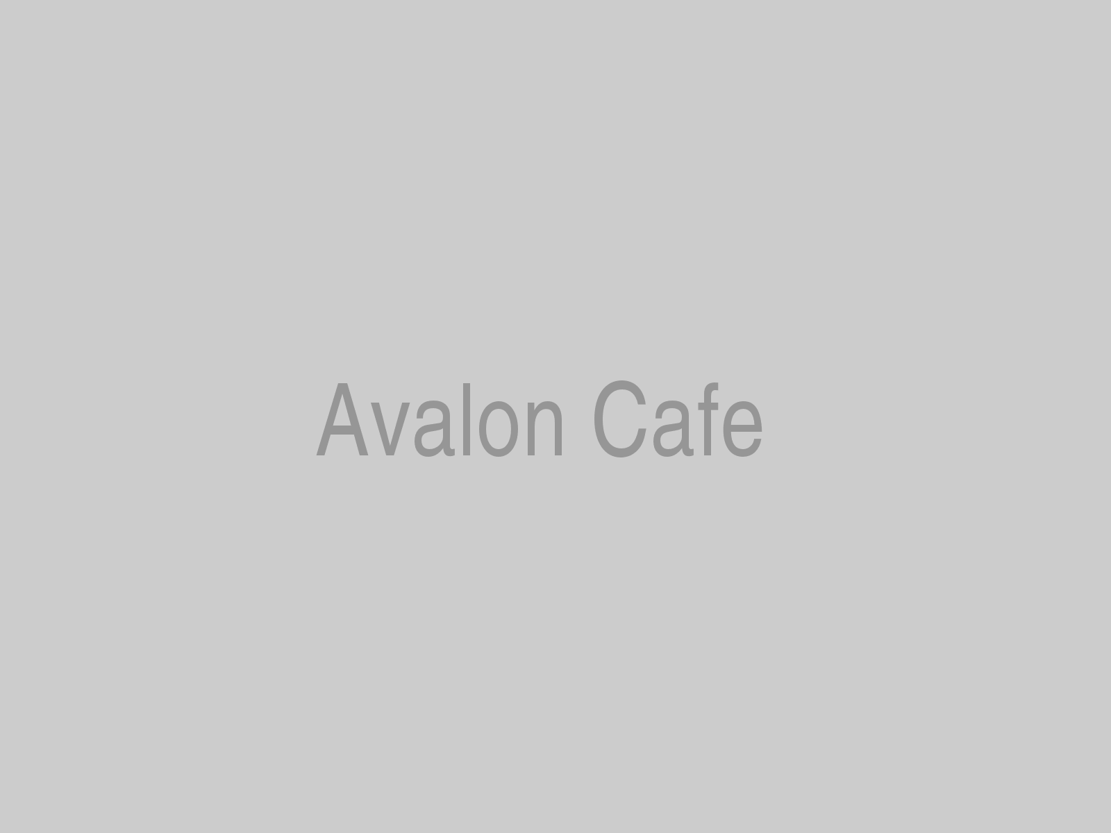 Avalon Cafe