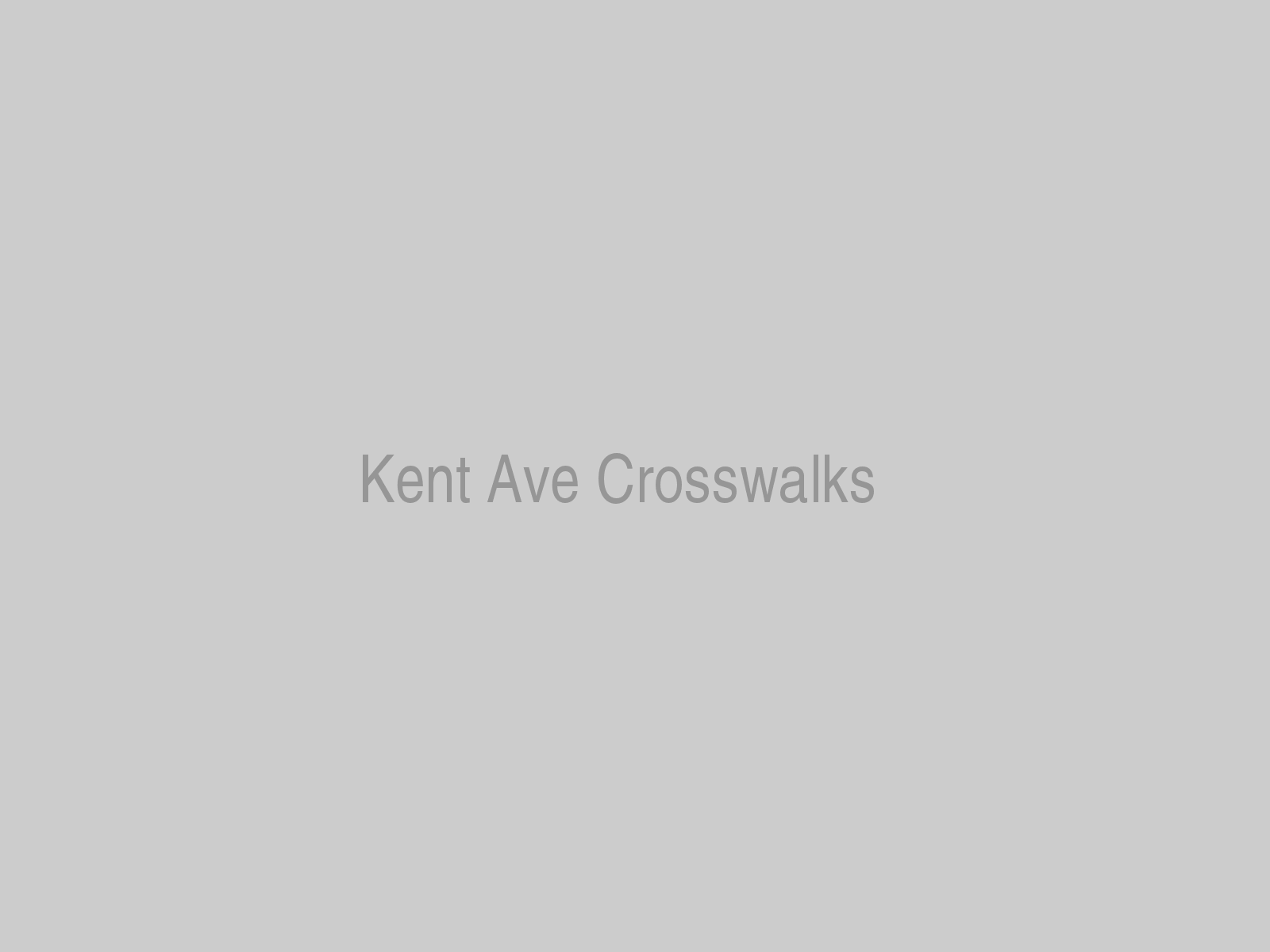Kent Ave Crosswalks
