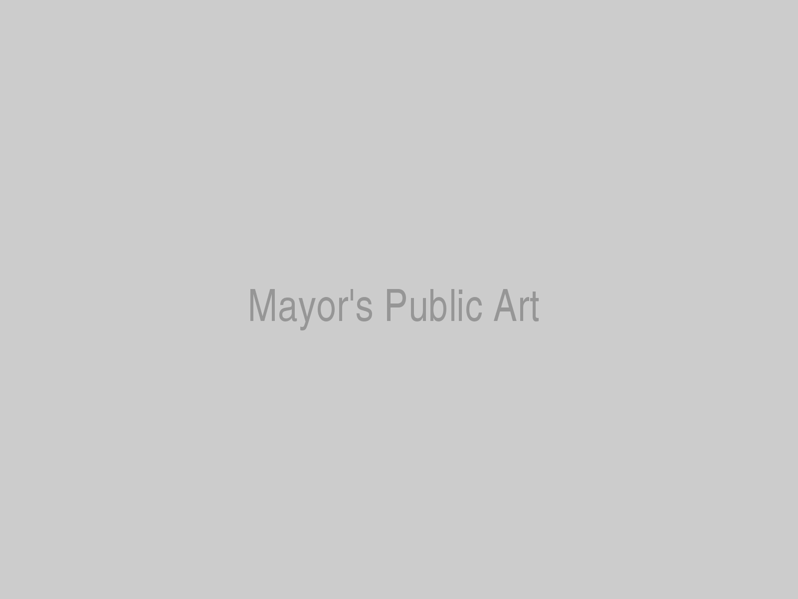 Mayor's Public Art