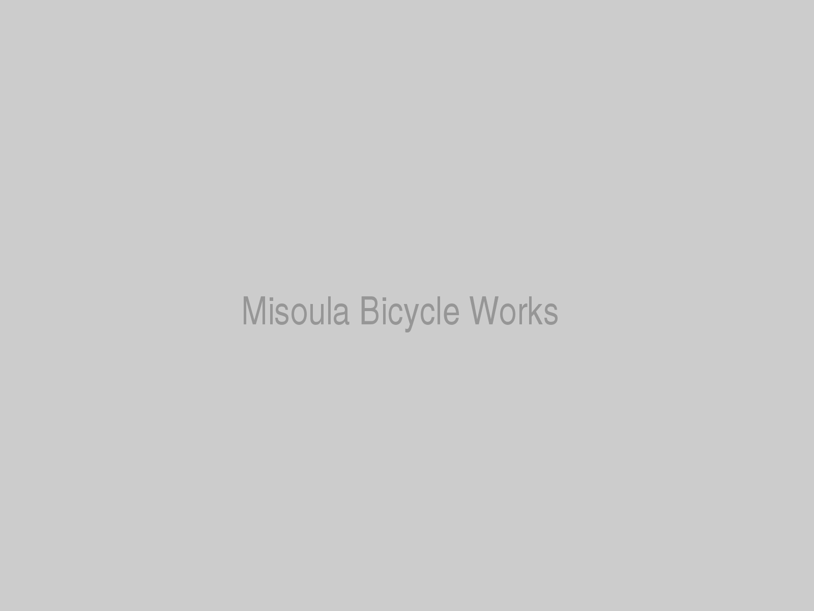 Misoula Bicycle Works